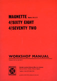 Cover image for MG Magnette MKIII, IV and Farina Workshop and Service Manual