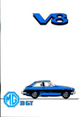 Cover image for MGB GT V8 Owners Manual
