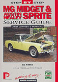 Cover image for Sprite/Midget Step-by-Step Service Guides