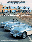 Cover image for Austin Healey 100/100-6/3000 Restoration Guide