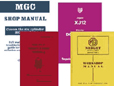 Cover image for Shop Manual - Jaguar E-Type Series I and II