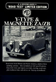 Cover image for MG Magnette and Y Type 1947-1958