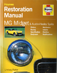 Cover image for MG Midget and Austin Healey Sprite Restoration Manual