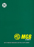 Cover image for Official MGB Factory Workshop Manual 1962-80