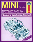 Cover image for Mini workshop manual 1959-1969
