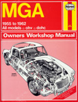 Cover image for Haynes MGA Workshop Manual