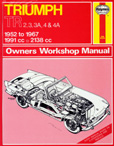 Cover image for Haynes TR2-4 Workshop Manual