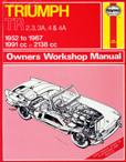 Cover image for Haynes TR2-4 Workshop Manual