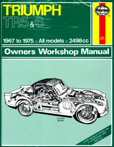 Cover image for Haynes TR5-6 Workshop Manual