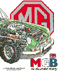 Cover image for MGB - The Illustrated History