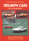 Cover image for Triumph Cars: The Complete Story