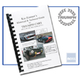 Cover image for Historical & Technical Guide for Triumph Cars