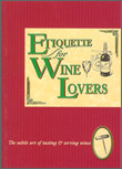 Cover image for ENGLISH BOOK - ETIQUETTE FOR WINE LOVERS