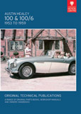 Cover image for AUSTIN HEALEY 100 & 100/6, 1953 TO 1959