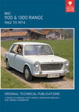 Cover image for BMC 1100 & 1300 RANGE, 1962 TO 1974