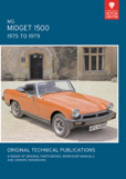 Cover image for MG MIDGET 1500, 1974 TO 1979