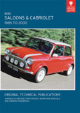 Cover image for MINI SALOONS & CABRIOLET, 1985 TO 2000