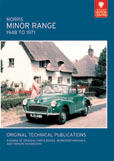Cover image for MORRIS MINOR RANGE, 1948 TO 1971