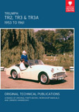 Cover image for TRIUMPH TR2, TR3 & TR3A, 1953 TO 1962
