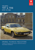 Cover image for TRIUMPH TR7, & TR8, 1975 TO 1981