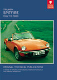 Cover image for TRIUMPH SPITFIRE, 1962 TO 1980