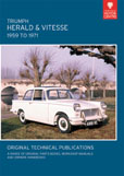 Cover image for TRIUMPH HERALD & VITESSE, 1959 TO 1971