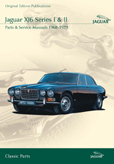 Cover image for JAGUAR XJ6 SERIES I & II PARTS & SERVICE 1968-79 CD ROM