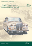 Cover image for JAGUAR DS420 LIMOUSINE PARTS & SERVICE 1968-92 CD ROM