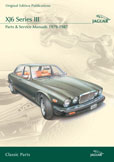 Cover image for JAGUAR XJ6 SERIES III PARTS & SERVICE 1979-87 CD ROM