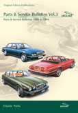 Cover image for JAGUAR PARTS & SERVICE BULLETINS VOL. 3 PARTS & SERVICE BULLETINS 1980-94 CD ROM