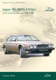 Cover image for JAGUAR XJ6 (XJ40) 4.0 LITRE PARTS & SERVICE 1990-94 CD ROM