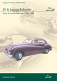Cover image for JAGUAR SS & JAGUAR SALOONS PARTS & SERVICE 1936-48 CD ROM