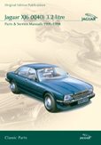Cover image for JAGUAR XJ6 (XJ40) 3.2 LITRE PARTS & SERVICE 1991-94 CD ROM