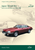 Cover image for JAGUAR XJS 6.0 LITRE PARTS & SERVICE 1992-96 CD ROM