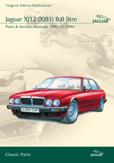 Cover image for JAGUAR XJ12 (XJ81) 6.0 LITRE PARTS & SERVICE 1993.25-94 CD ROM