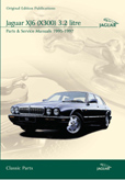 Cover image for JAGUAR XJ6 (X300) 3.2 LITRE PARTS & SERVICE 1995-97 CD ROM