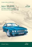 Cover image for JAGUAR XJR (X300) 4.0 LITRE SUPERCHARGED PARTS & SERVICE 1995-97 CD ROM