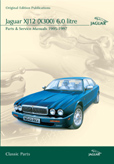 Cover image for JAGUAR XJ12 (X300) 6.0 LITRE PARTS & SERVICE 1995-97 CD ROM