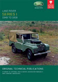 Cover image for LAND ROVER SERIES I, 1948-1958