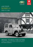 Cover image for LAND ROVER SERIES II, 1958-1961
