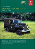 Cover image for LAND ROVER HALF TON MILITARY, 1968-1984
