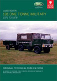 Cover image for LAND ROVER 101 ONE TONNE MILTARY, 1975-1978