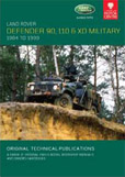 Cover image for LAND ROVER 90/110/XD MILTARY, 1984-1999