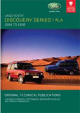 Cover image for LAND ROVER DISCOVERY NORTH AMERICA, 1994-1998