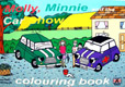 Cover image for Molly, Minnie and the Car Show Colouring Book