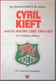 Cover image for The Definitive History of Cyril Kieft and his Racing  Cars 1949-1955